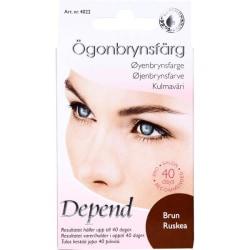 Depend Ögonbrynsfärg Kit Brun
