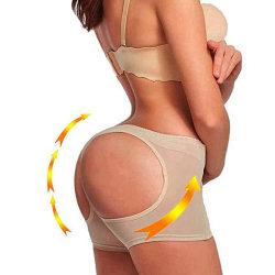 Butt Lifter rumplyft Pushup Trosa Shapewear shaping Beige Small