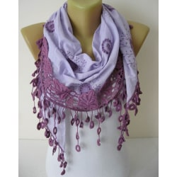 Elegant Sjal /scarf  Blå