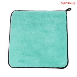 1200gsm mikrofiber handdukstvätt plyschbil som beskriver tvättrengöring S(40*40cm)