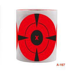 120st / rulle skytte mål lim skjuta mål stänk stic Red