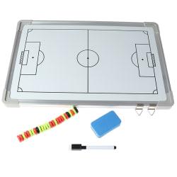 1 set 46 x 31 cm magnetiskt fotbolls taktikbrädeset tränartåg one size