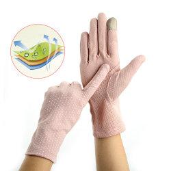 anti-UV-spetshandskar för kvinnor Light pink