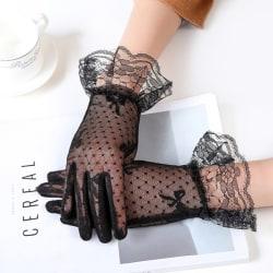 mode 1 par sexiga kvinnor flickor spets kör handskar