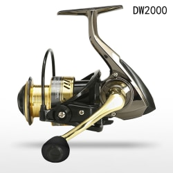 2023 5.2: 1 höghastighetsmetall spole snurrrulle fiske rulle max DW-2000