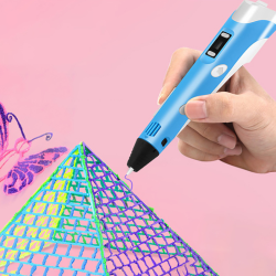 3D-tryckpenna för tredimensionell målning Green