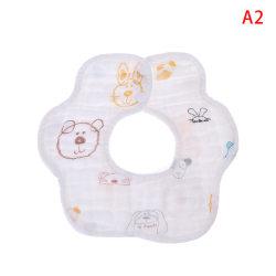 Haklappar 360 graders rotation 8 lager gasbind Muslin Baby Kids Ba