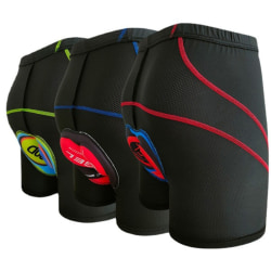 andas snabbtorkande cykelshorts underkläder uppgradera 5d gel Blue M