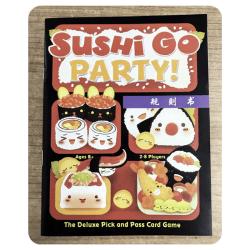 interaktivt sushi pedagogiskt brädspel föräldrabarnsfest B