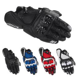 s1 knight racing handskar motorcykel lok handskar off-road cy Black M