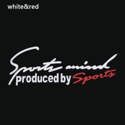 sport brev bil motorhuv klistermärken emblem badge dekal bil täcka de White