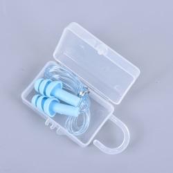 vattentäta öronproppar av silikon sömnbuller förebyggande öronproppar nr