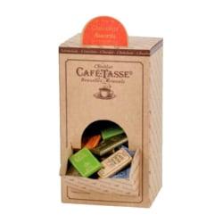 Kafé-Tasse Mini chokladkaka, mixade sorter, 9 g (80 st) Brun