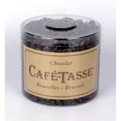 Kafé-Tasse Tubo Cordoba, mörk choklad med kaffesmak 1 kg Brun