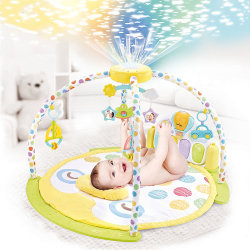 Ladida Babygym Cosmonova med Projektor och Aktivitetspanel Grön one size