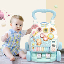 Ladida Gåvagn Baby Activity Piano Walker Vit one size