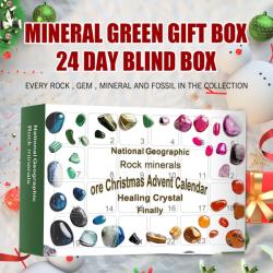 24st Barndomsutbildning Leksaker Rock Mineral Fossil #2