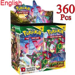 360-pack kort Pokm Booster Box EVO Collection kortspel