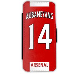 Aubameyang Arsenal iPhone  7 / 8 s Plånboksfodral fodral skal