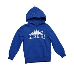 Blå Fortnite huvtröja hoodie sweatshirt t-shirt 164cl - 170 cl  14-15år
