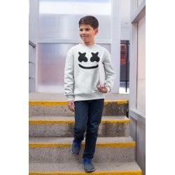 DJ marshmellow barn askgrå sweatshirt tröja t-shirt 7-8 år 130cl