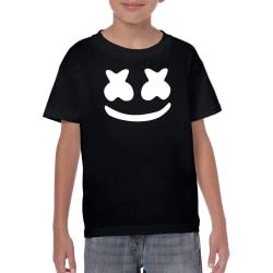 DJ Marshmellow svart barn t-shirt 152 cl 12-13år