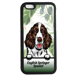 English Springer Spaniel iPhone 7 / 8 & SE  skal hund gummiskal