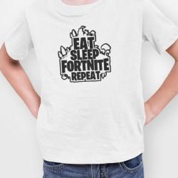 Fortnite t-shirt Eat Sleep Fortnite Repeat 140