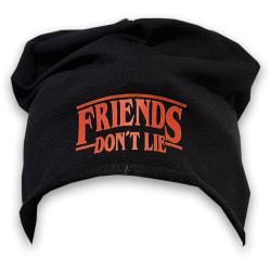 Friends don't lie  beanie mössa hat - One size stranger things