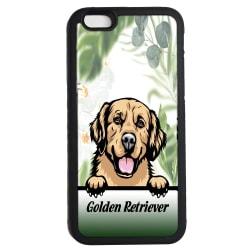 Golden retriever iPhone 7 / 8 & SE 2nd gen'  skal hund gummiskal