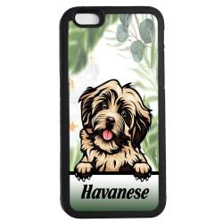 Havanese iPhone 6 6s skal hund gummiskal