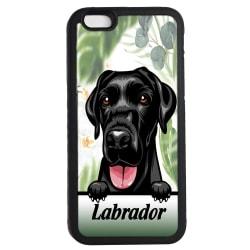 Labrador iPhone 7 / 8 & SE 2nd gen'  skal Kikande hund gummiskal
