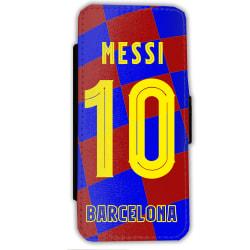 Messi Barcelona tröja iPhone  7 / 8  Plånboksfodral fodral skal