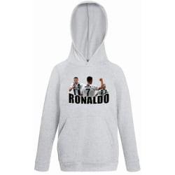 Ronaldo barn huvtröja Sweatshirt t-shirt - Juventus Hoodie 128cl 7-8 år