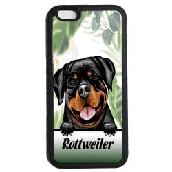 Rottweiler iPhone 6 6s skal hund gummiskal