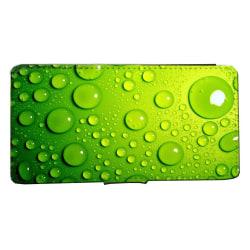 Samsung S10 PLUS  Plånboksfodral Gröna bubblor bild fodral skal