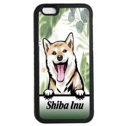 Shiba inu iPhone 6 6s skal hund gummiskal