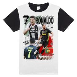 T-shirt  Ronaldo Juventus & Portugal 135cl 9-10 år