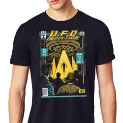 UFO Abduction T-shirt - Vintage serie stil XL