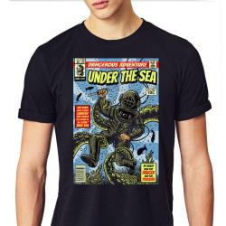 Under the sea T-shirt - Vintage serie stil XXL