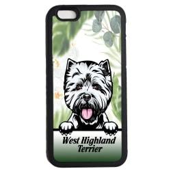 West highland terrier iPhone 6 6s skal hund gummiskal