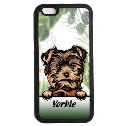 Yorkshire terrier - Yorkie iPhone 7 / 8 & SE skal hund gummiskal