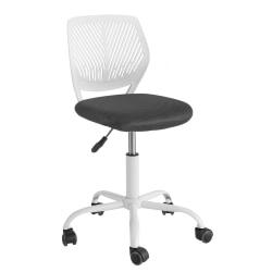 SoBuy, Snurrfåtölj, höjdjusterbart Skrivbordsstol FST64-W