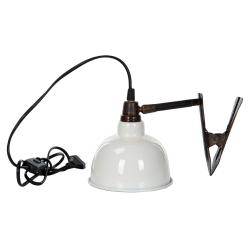 Lampa Clip El Emalj Shell 15x15cm