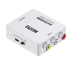 AV till HDMI konverter, 1080P, vit