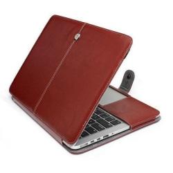 """Fodral för MacBook Pro 13"""" Retina A1425/A1502 brun"""