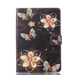 Läderfodral med ställ vacker motiv, iPad Mini 1/2/3