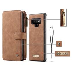 CaseMe plånboksfodral, Samsung Galaxy Note 9 brun
