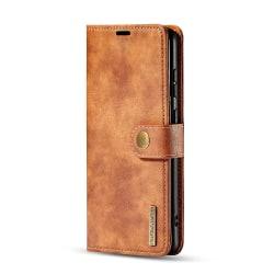 DG.MING fodral, magnetskal & ställ, Samsung Galaxy S20+ brun