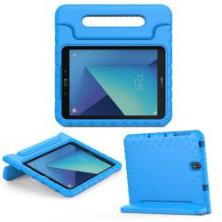 Barnfodral med ställ, Samsung Galaxy Tab S3 9.7 blå